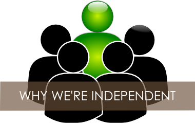 why we offer independent financial advice