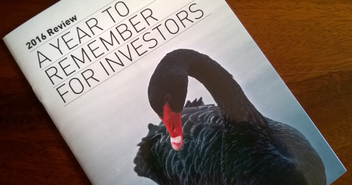 Investment in 2016 A Black swan